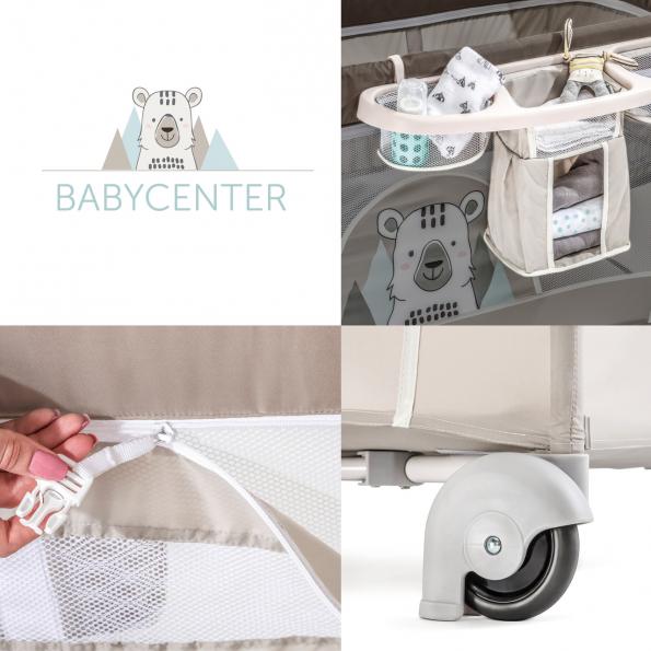Hauck Select Babycenter rejseseng - friend