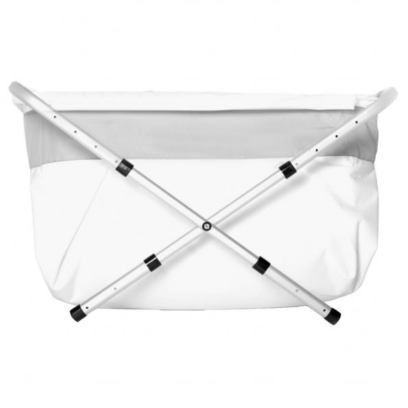 BiBaBad Flexi badekar 60-80 cm. - sølv