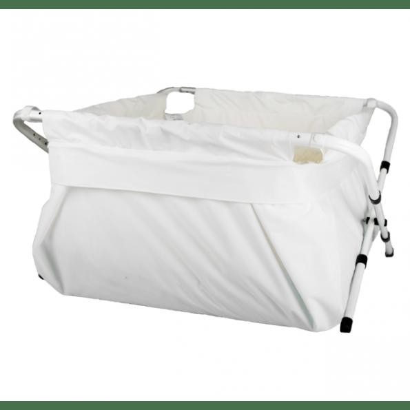 BibaBad Flexi badekar 80-100 cm - Hvid