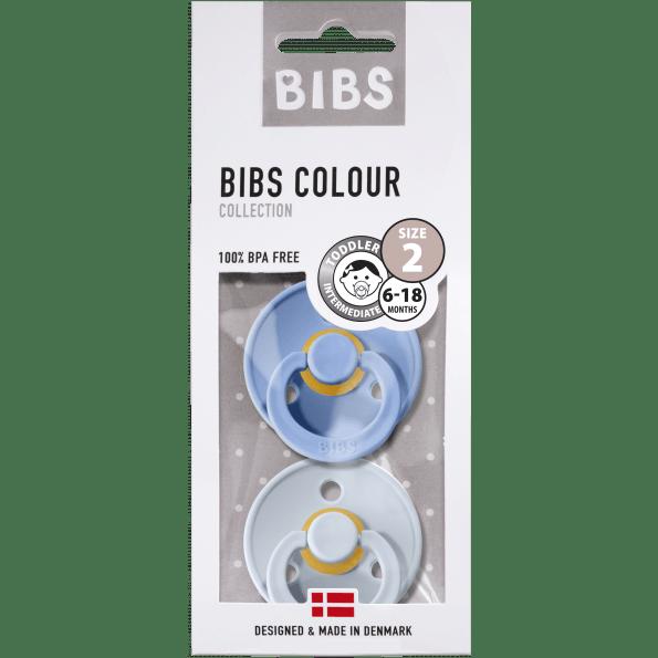 BIBS Colour sutter - Sky Blue/Baby Blue