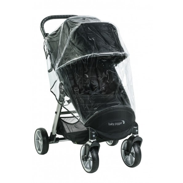 Baby Jogger regnslag single - City Mini 2, 4 hjul