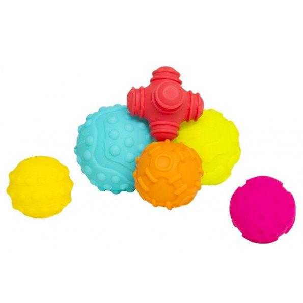 Playgro bløde sansebolde 6 stk