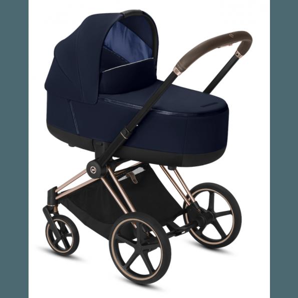 Priam Lux Carry Cot - Indigo Blue