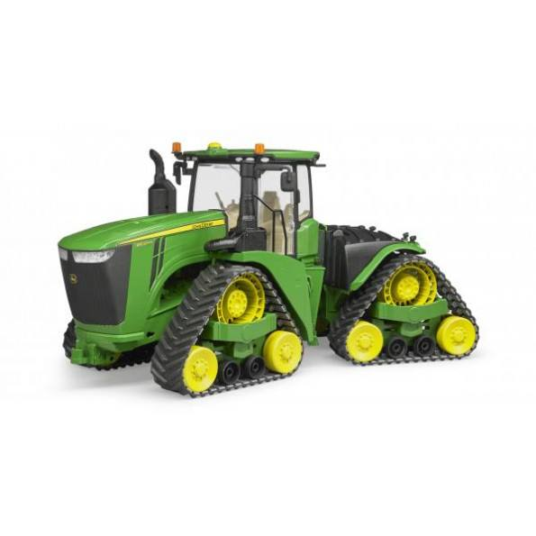 Bruder - John Deere 9620 RX traktor m. larvefødder - 4055