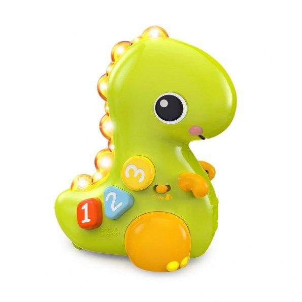 Bright Starts dinosaur kravl-og-lær legetøj