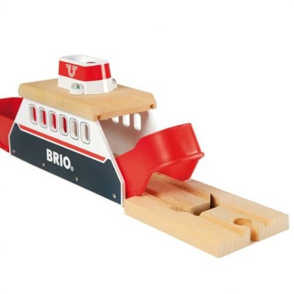 BRIO World - Færge med Lys og Lyd - 33569