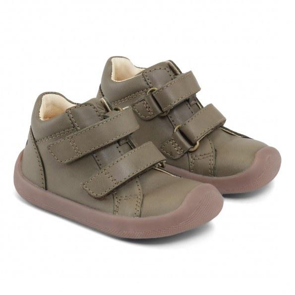 Bundgaard The Walk Velcro sko – Army WS