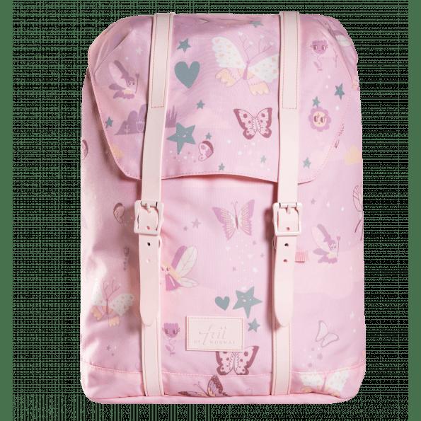 Frii of Norway skoletaske - Pink Butterfly