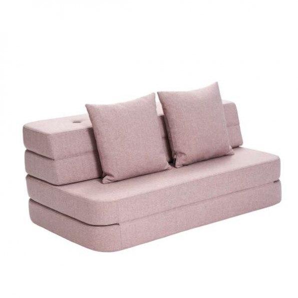 By Klipklap 3 Fold Sofa - Soft Rose