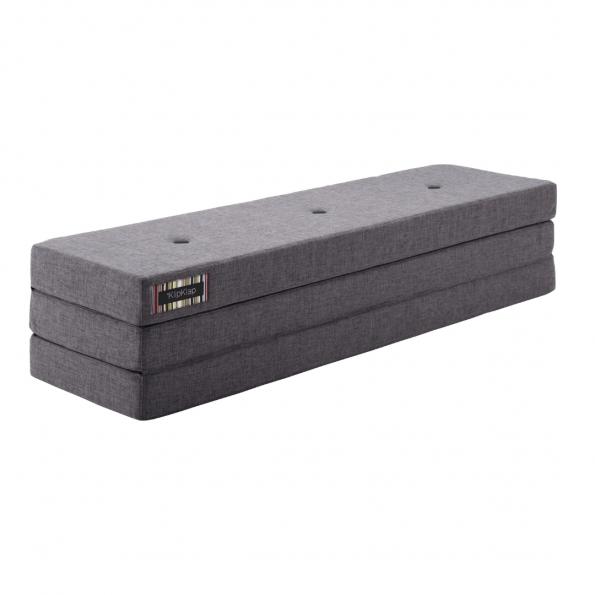 By KlipKlap 3 Fold madras - Mørkegrå