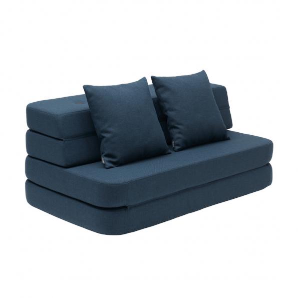 By KlipKlap 3 Fold sofa - Mørkeblå