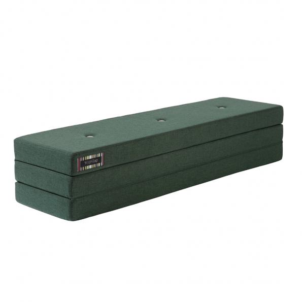 By KlipKlap 3 Fold XL madras - Mørkegrøn