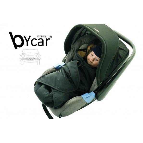 Sleepbag byCar - Sort / Grå