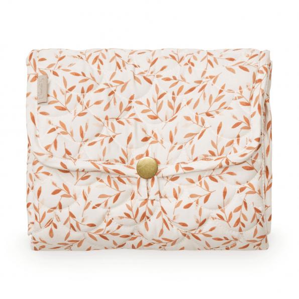 Cam Cam quiltet pusleunderlag – caramel leaves