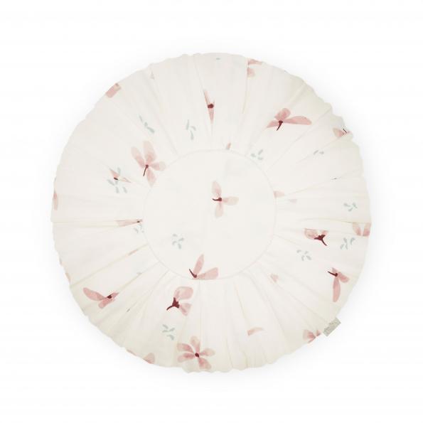 Cam Cam rund pude – windflower cream