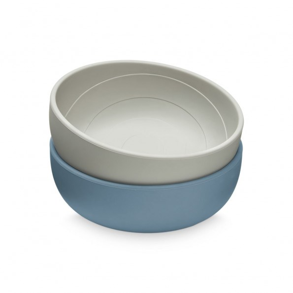 Cam Cam silikone skål 2-pak - Midnight Mix