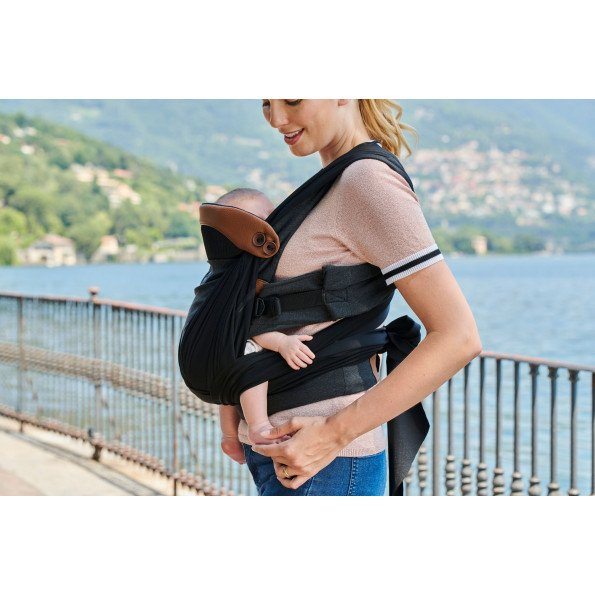 CHICCO Boppy Comfy Fit Luxe bæresele - Charcoal