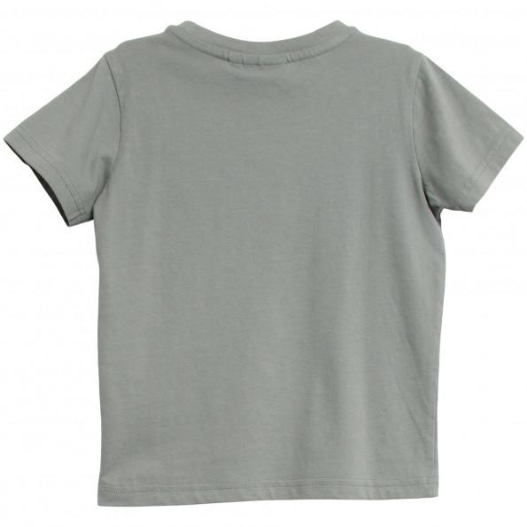 WHEAT t-shirt - Lead Blue