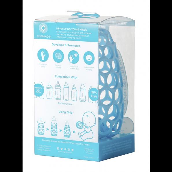 Cognikids sutteflaskeholder – blå