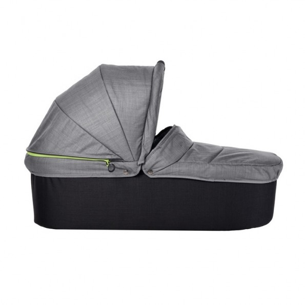 TFK Duo X Carrycot - Grey melange