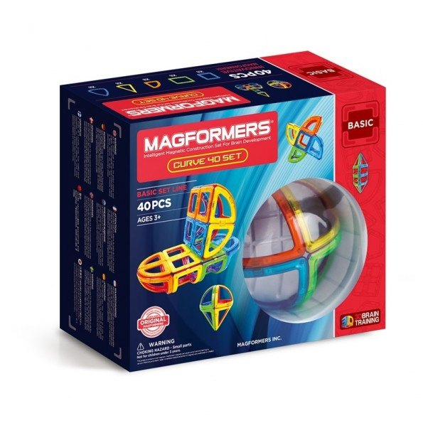Magformers Curve 40 sæt
