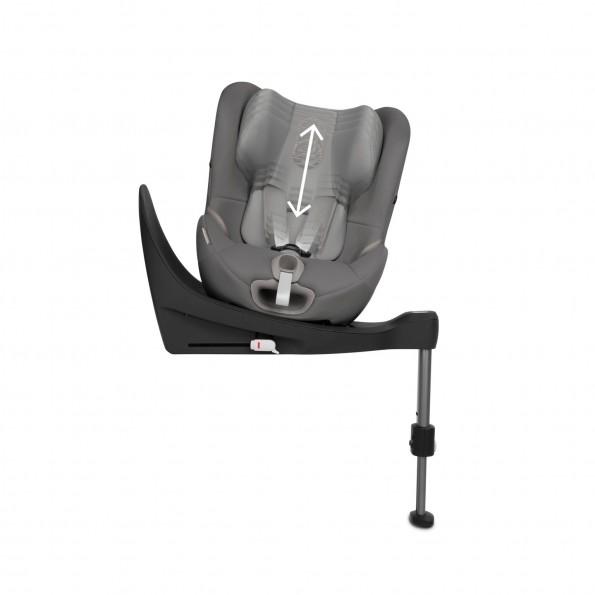 Cybex Sirona S i-Size Autostol - Lavastone Black