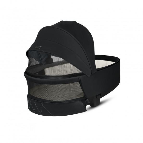Priam Lux Carry Cot - Deep Black