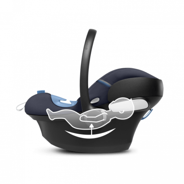 Cybex Aton M i-Size & SensorSafe autostol - Navy Blue 2020