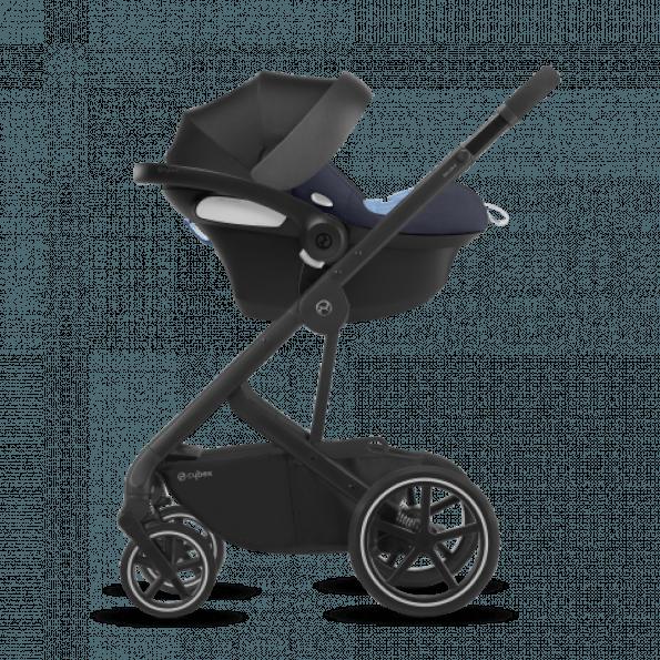 Cybex Aton M i-Size & SensorSafe autostol - Granite Black 2020