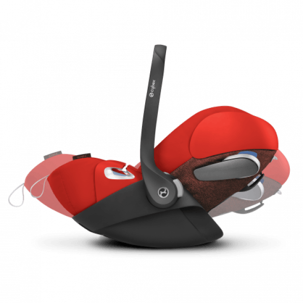 Cybex Cloud Zi-Size & SensorSafe autostol - Deep Black 2020