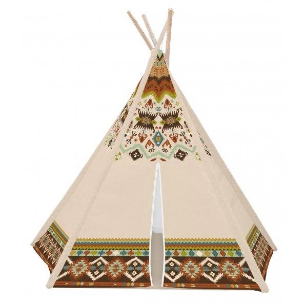 HOK Tepee Telt 120X120X150 - Indianer