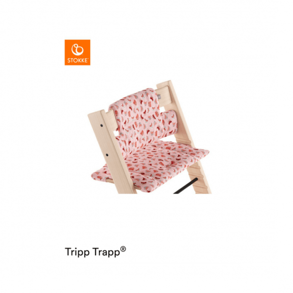 Tripp Trapp hynde - pink fox