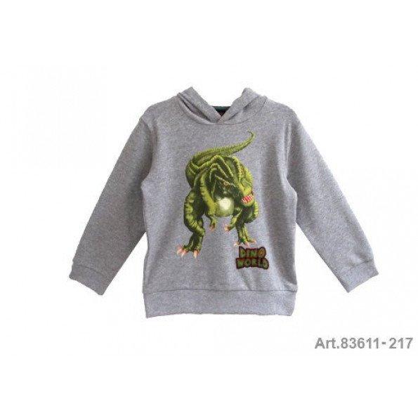 Dino World sweatshirt – Grå