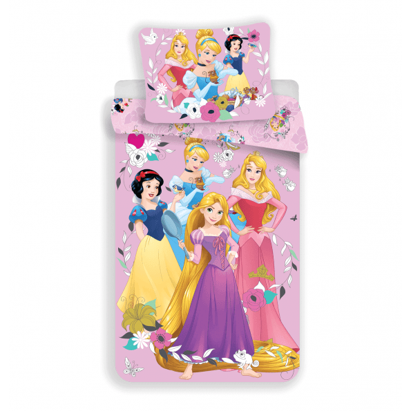 Disney Princess Juniorsengetøj - 100x140 cm