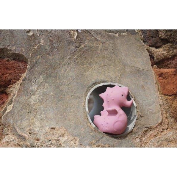 Tikiri bide- og badedyr søhest - lyserød