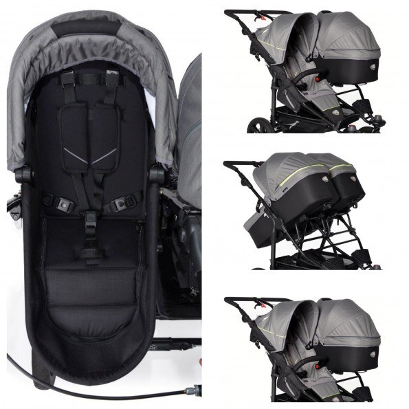 TFK Duo X Carrycot Premium - Antracit