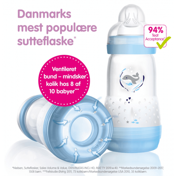 MAM Anti Colic Sutteflaske - 260ml