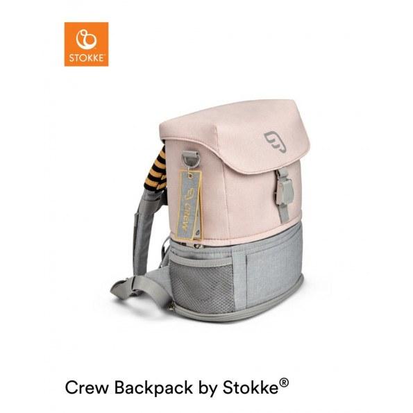 Stokke Jetkids Crew rygsæk - Pink Lemonade