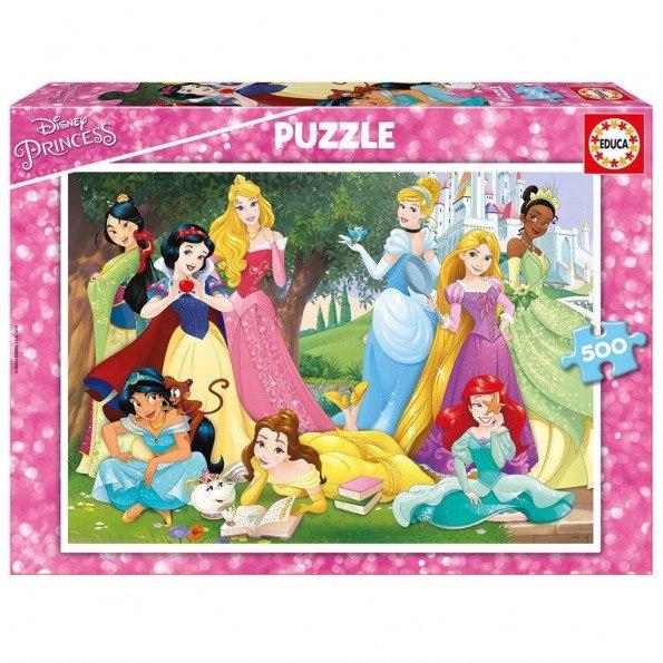 Educa Disney prinsesse puslespil - 500 brikker