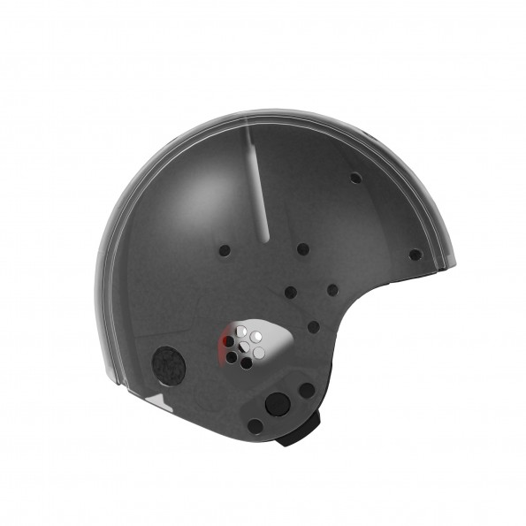 EGG helmet, str. medium, transparent