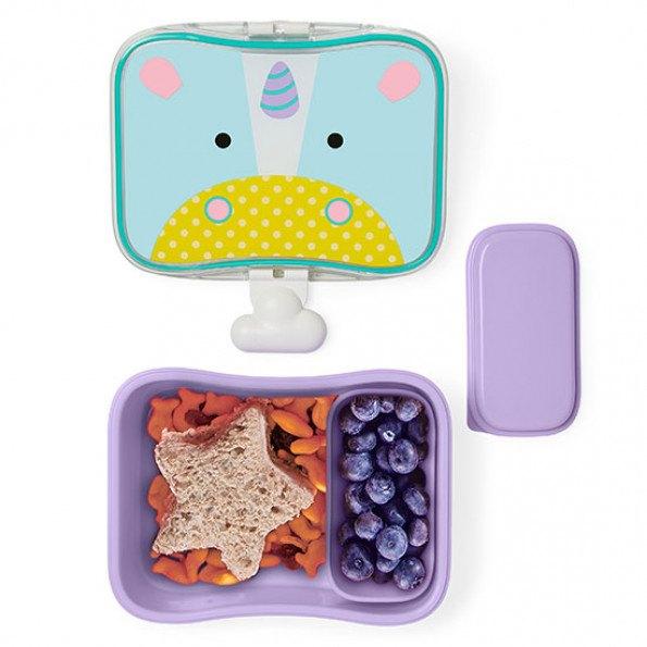 Skip Hop Zoo plast madkasse - enhjørning