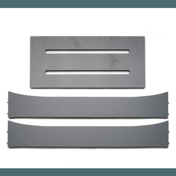 Leander extension kit junior seng - grå