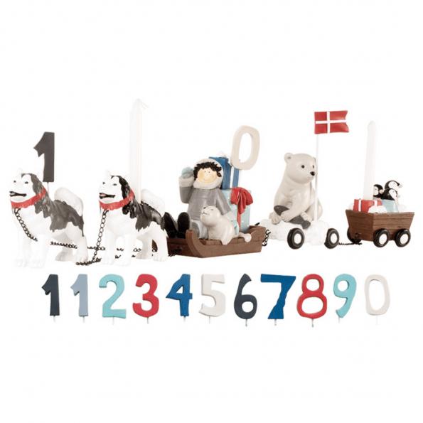 Kids by Friis fødselsdagstog - Hundeslæde