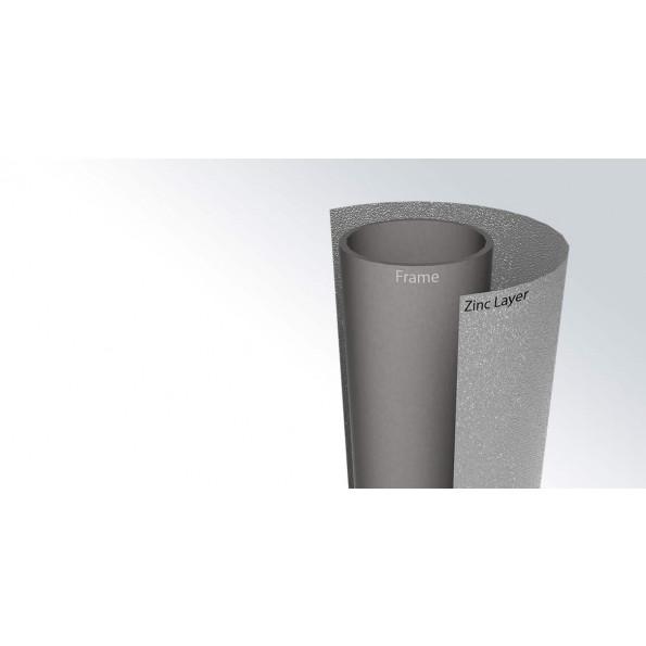 BERG Favorit InGround Grey m. net - Ø430 cm