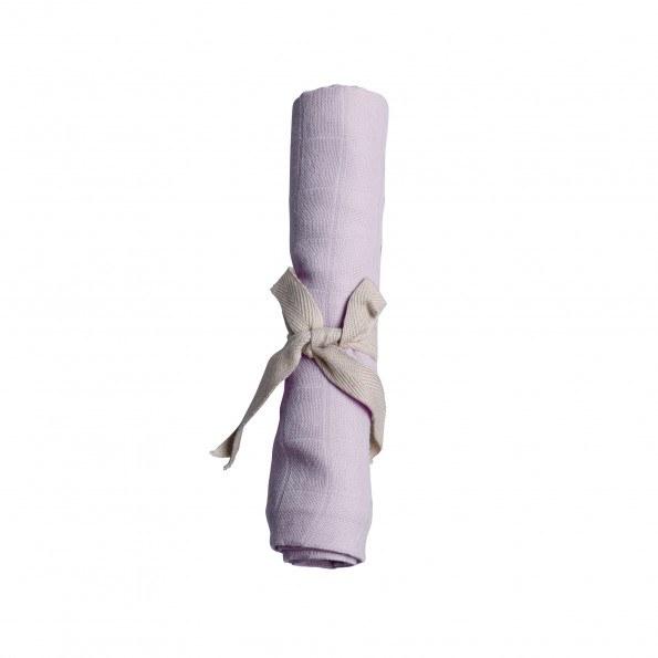 Filibabba muslin stofble - light lavender