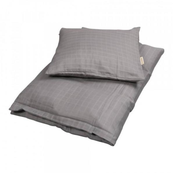 Filibabba baby sengetøj - grey - 70x100 cm.