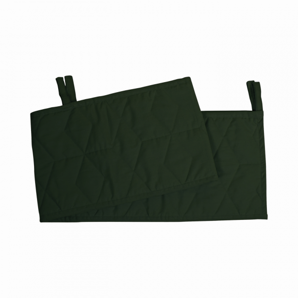 Filibabba Sengerand soft quilt - dark green