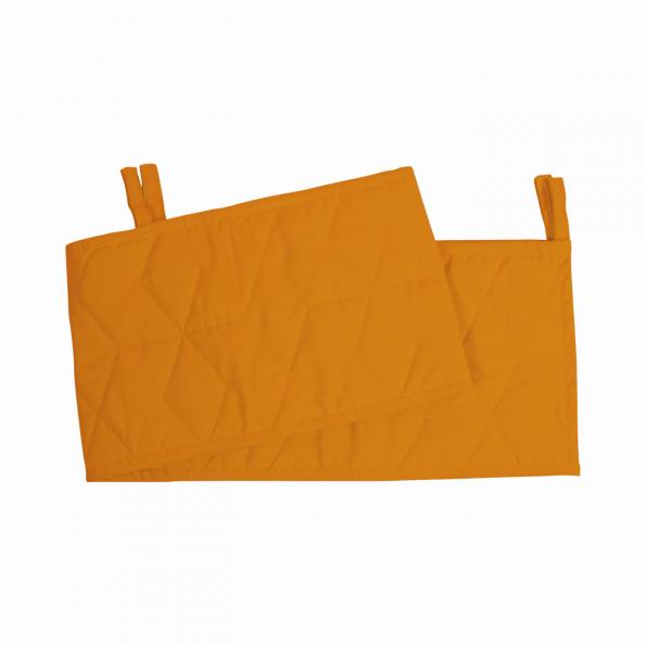 Filibabba Sengerand Soft Quilt 180x23 cm - golden mustard