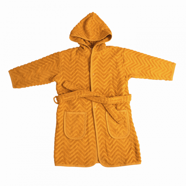 Filibabba Badekåbe Zigzag - Mustard