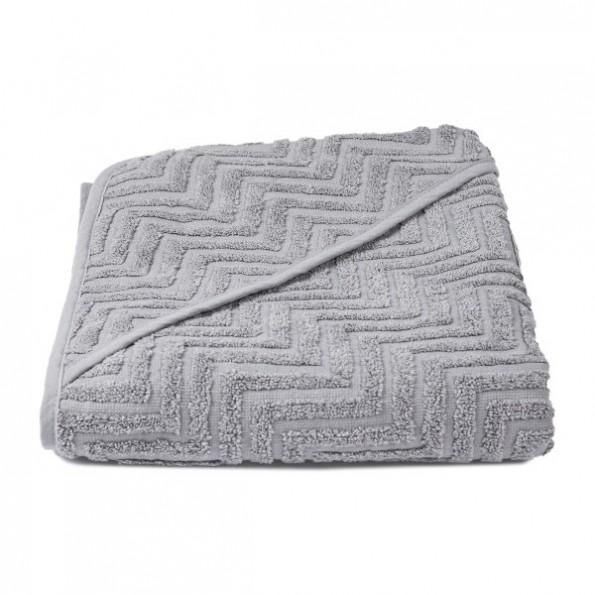 FILIBABBA Badehåndklæde - Zigzag Grey